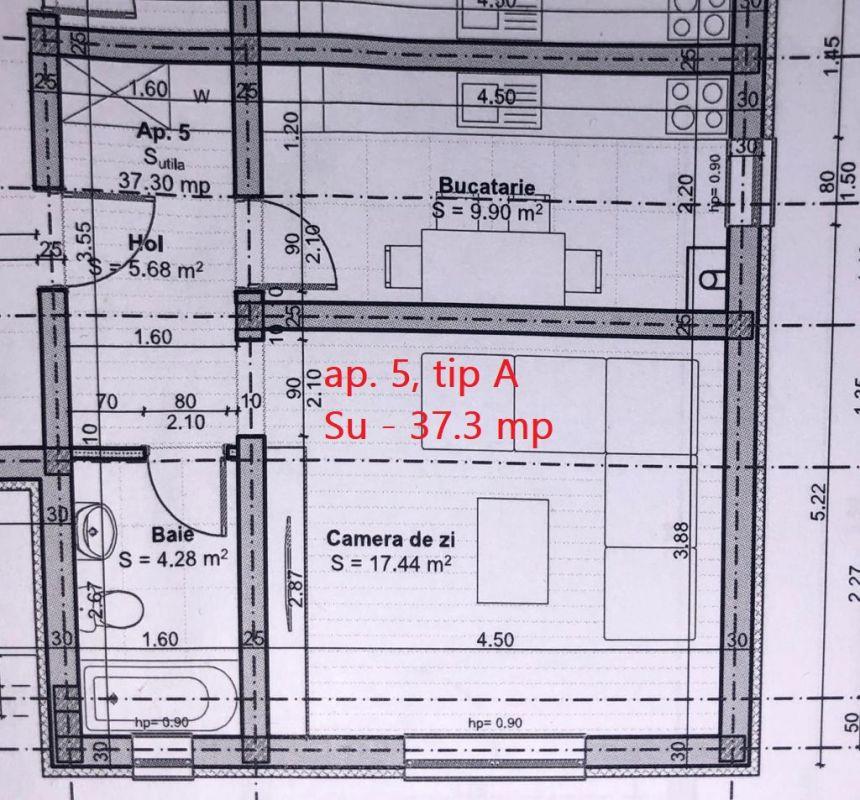Ap. 1 camera de vanzare loc de parcare in GIROC - ID V43 4