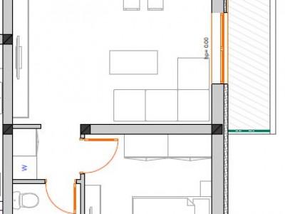 Apartament cu  doua camere  | Semidecomandat | Giroc | Zona Braytim