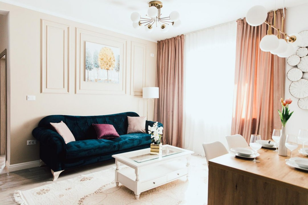 Apartament modern cu doua camere, design deosebit - Giroc 11