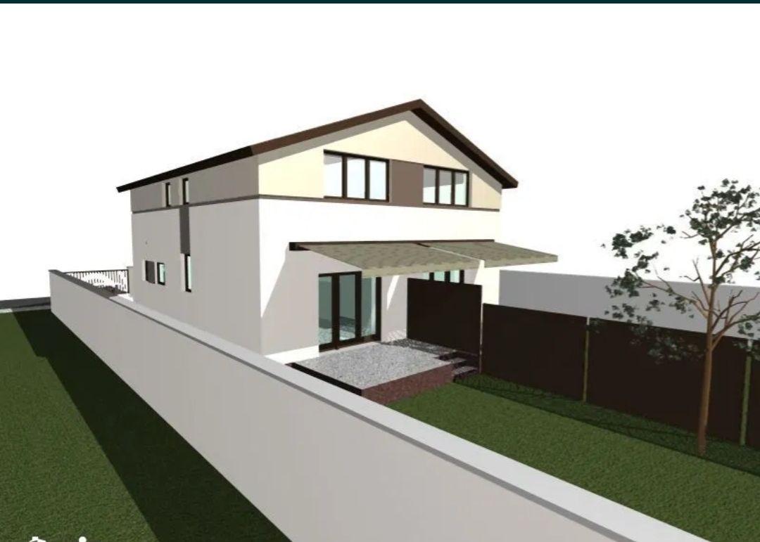 Casa tip duplex 3 camere de vanzare Mosnita Noua 9