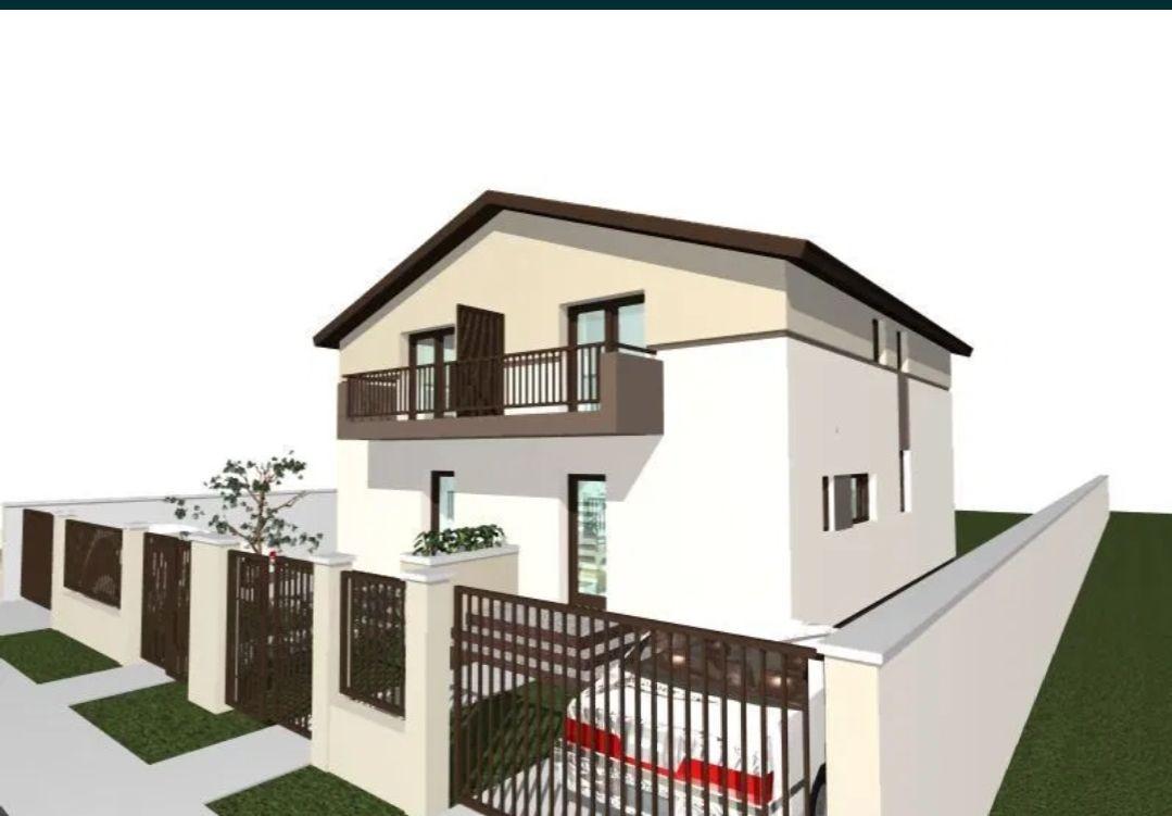 Casa tip duplex 3 camere de vanzare Mosnita Noua 11