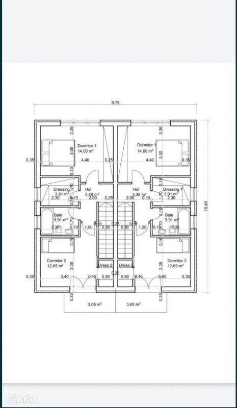 Casa tip duplex 3 camere de vanzare Mosnita Noua 6
