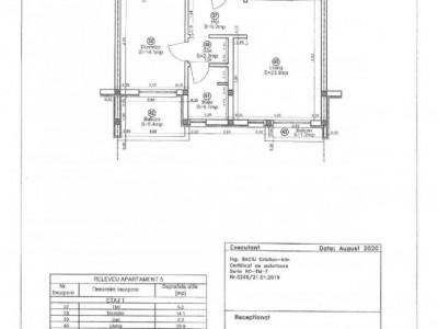 Apartament nou cu 2 camere, zona Cora - V1814