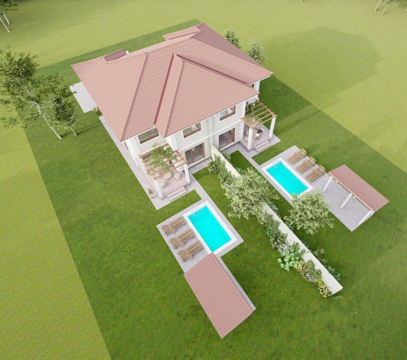 Vila cu piscina, P+1E+Pod, zona centrala, Sag 3