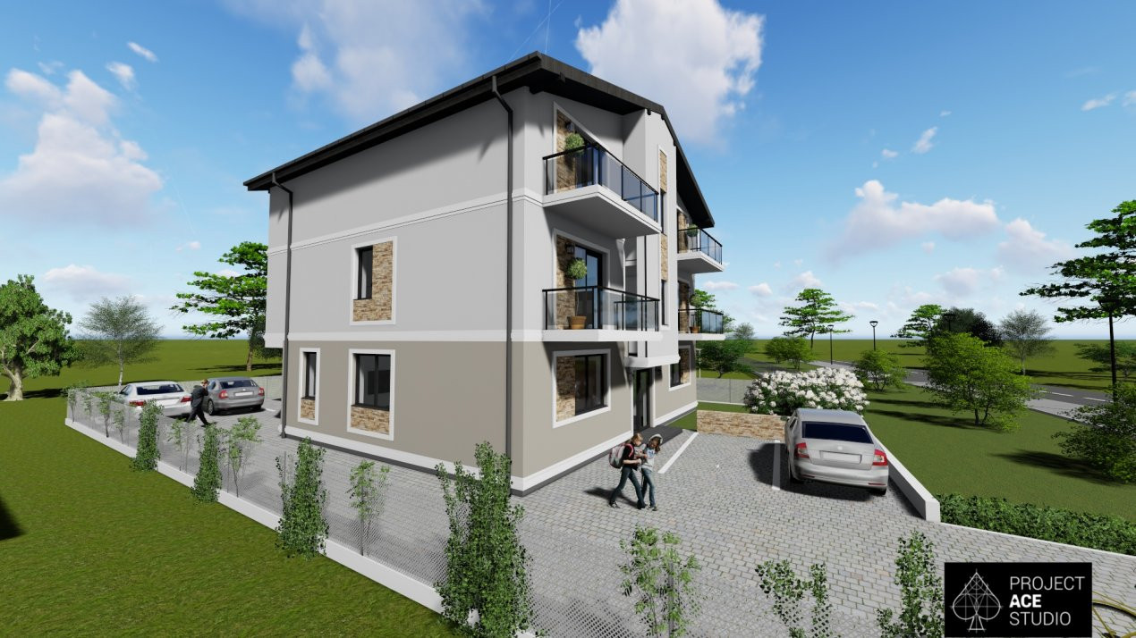 Apartament nou, 2 camere, decomandat, etaj 1, Giroc  - V1872 2