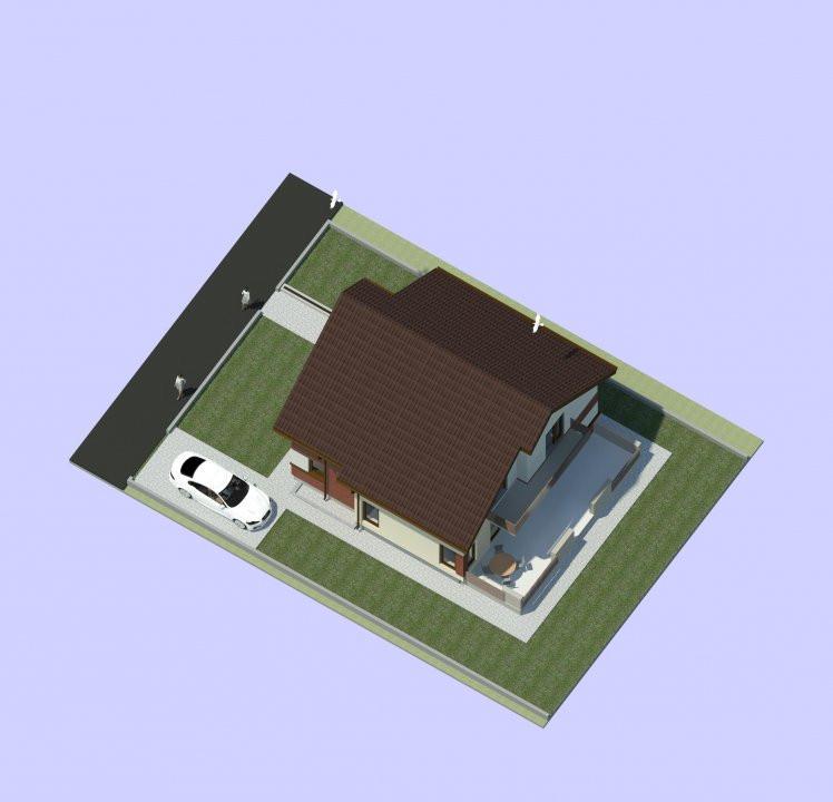 Apartament nou, 2 camere, decomandat, etaj 1, Giroc  - V1872 5