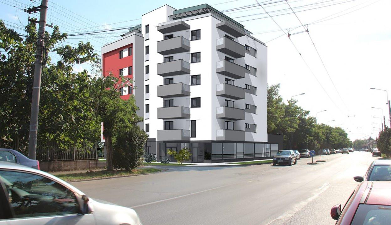 Apartament nou, 2 camere, etaj 3, Sagului - V1883 1