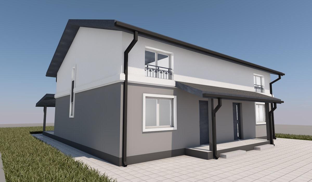 Duplex Mosnita Noua cu Pozitionare Bună 9