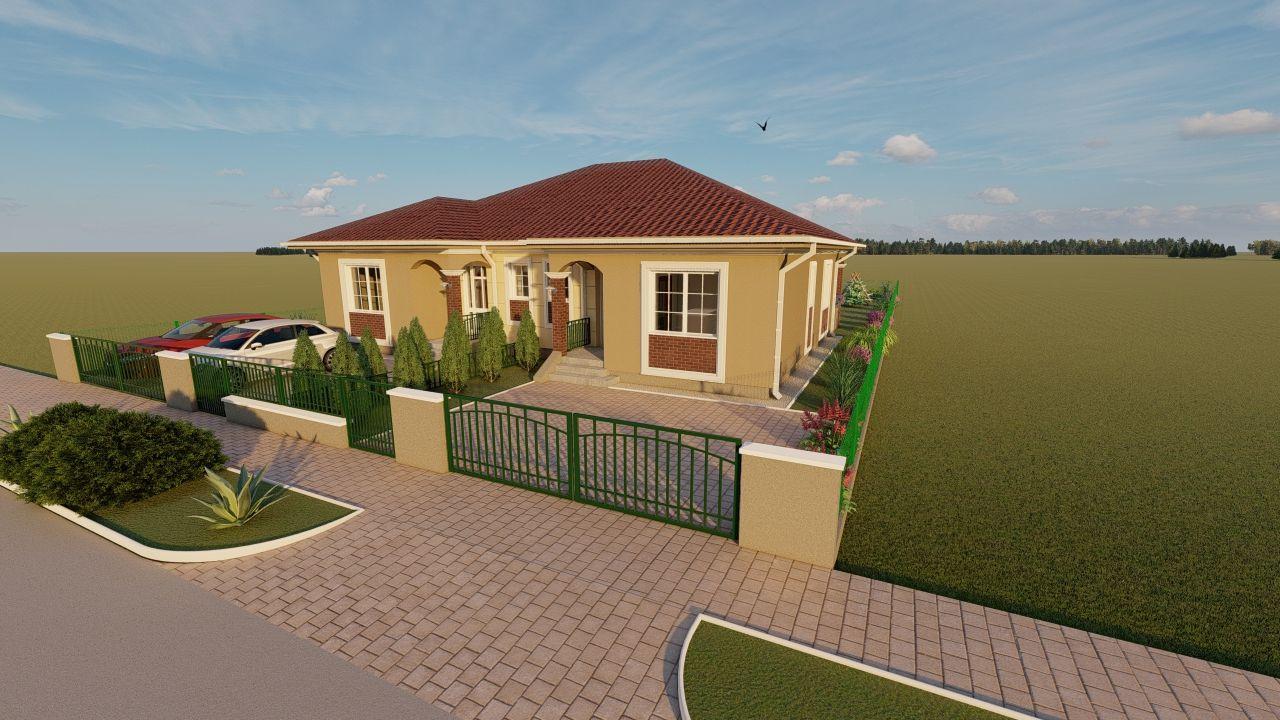 Casa tip duplex 3 camere, de vanzare,  Dumbravita zona lac - ID V406 2