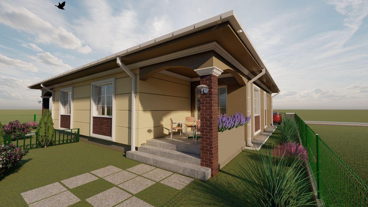 Casa tip duplex 3 camere, de vanzare,  Dumbravita zona lac - ID V406 3