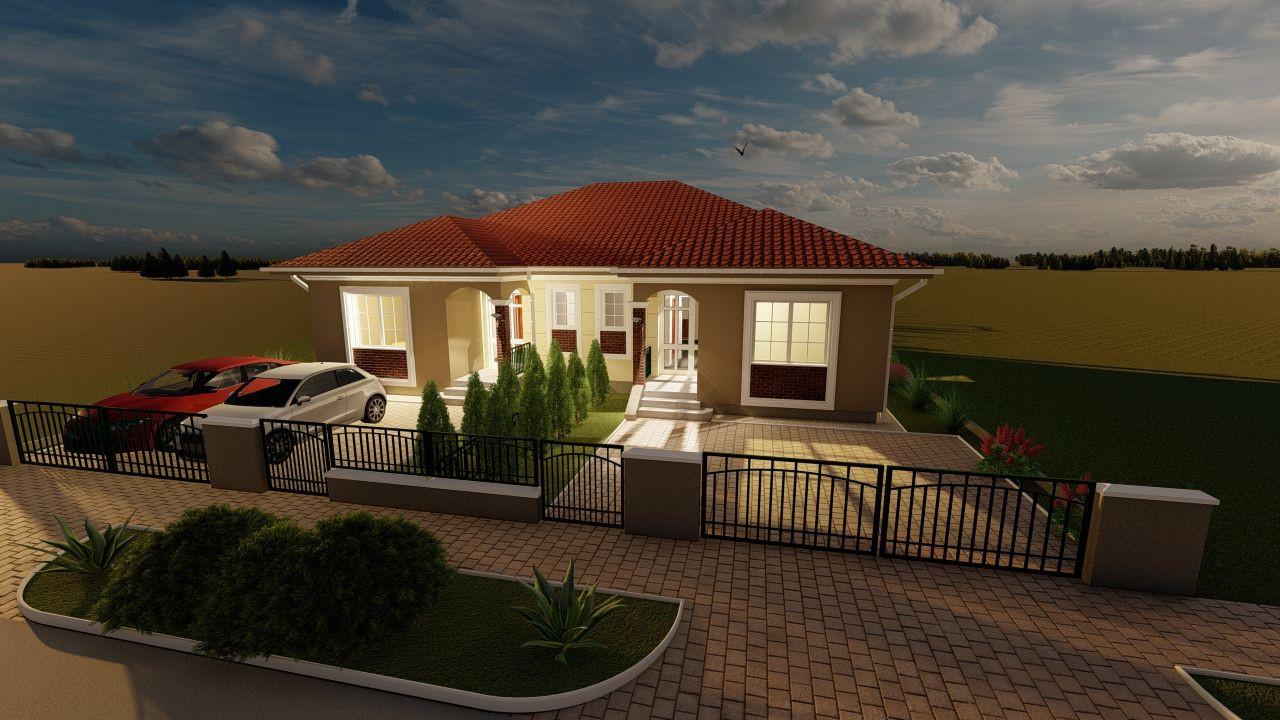 Casa tip duplex 3 camere, de vanzare,  Dumbravita zona lac - ID V406 4