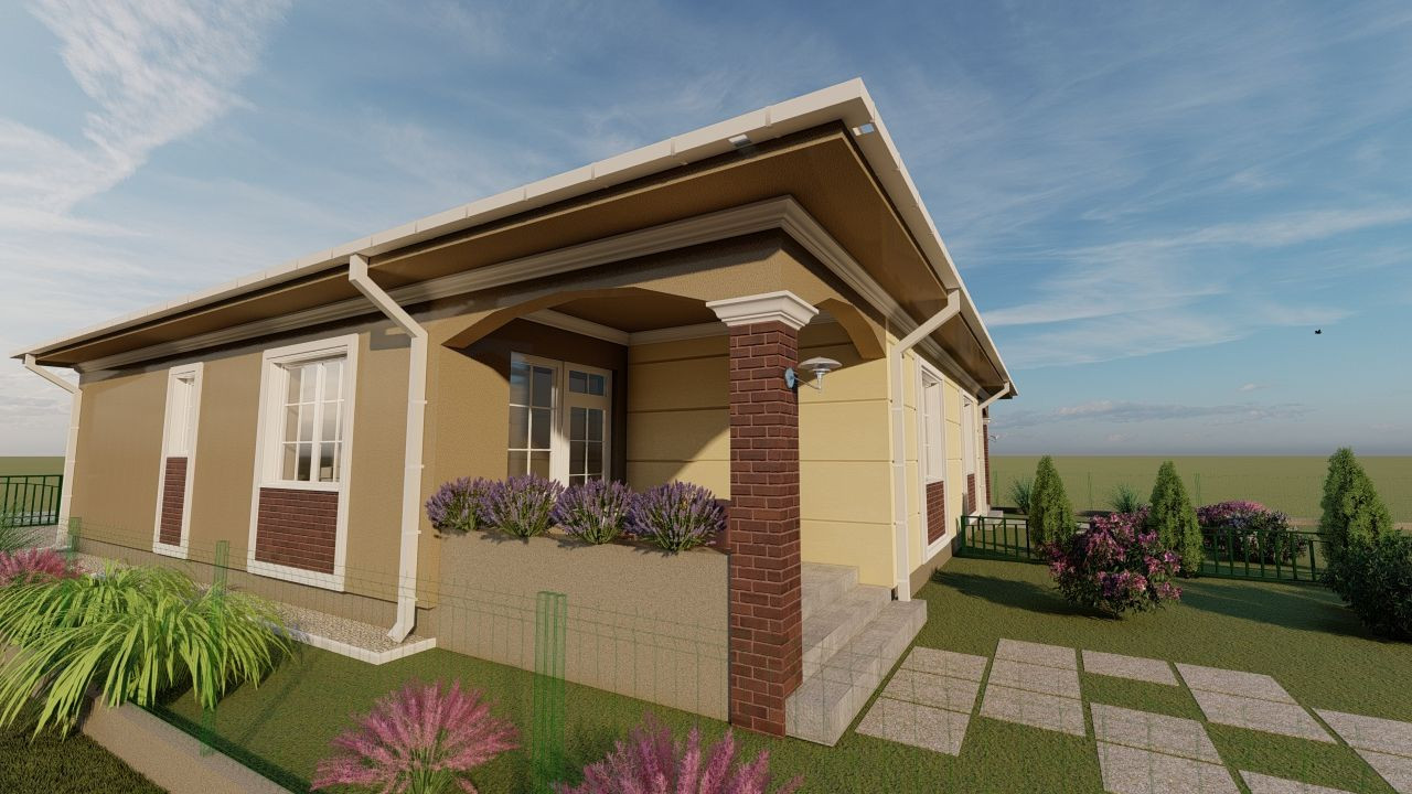 Casa tip duplex 3 camere, de vanzare,  Dumbravita zona lac - ID V406 5