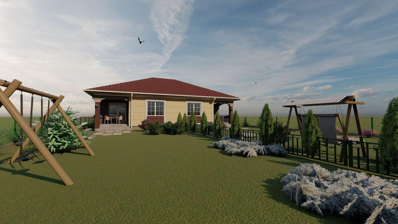 Casa tip duplex 3 camere, de vanzare,  Dumbravita zona lac - ID V406 6