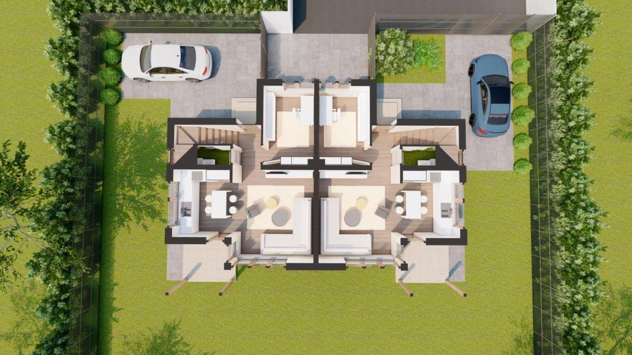 Duplex 4 Camere Mosnita Veche Zonă Centrală 4
