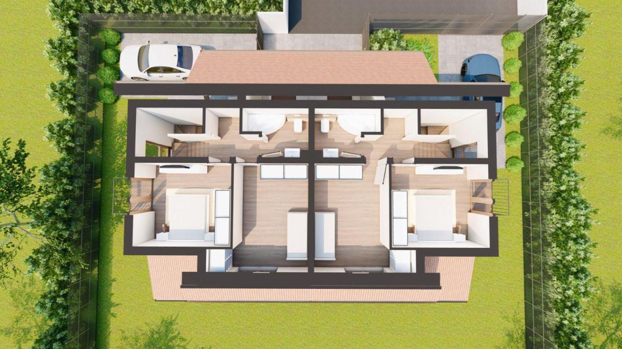 Duplex 4 Camere Mosnita Veche Zonă Centrală 5