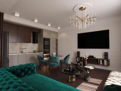 Apartament LUX 3 camere finisaje premium zona excelenta