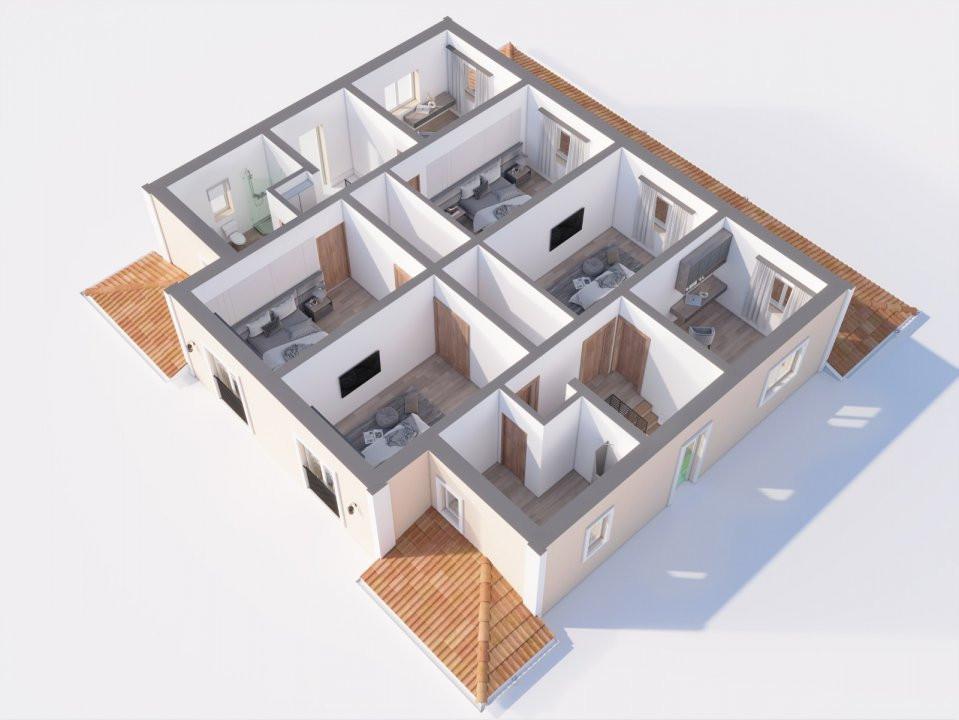 1/2 Duplex Moșnița Nouă poziționare excelentă! 3