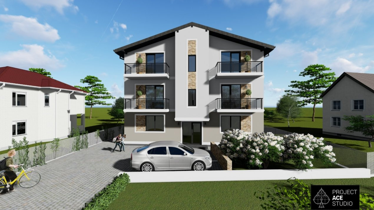 Apartament nou, decomandat, 2 camere, Braytim - V2010 2