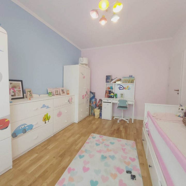 Confortul unei case in apartamentul cu 3 camere, gradina de 60 mp, Cora- V2032 4