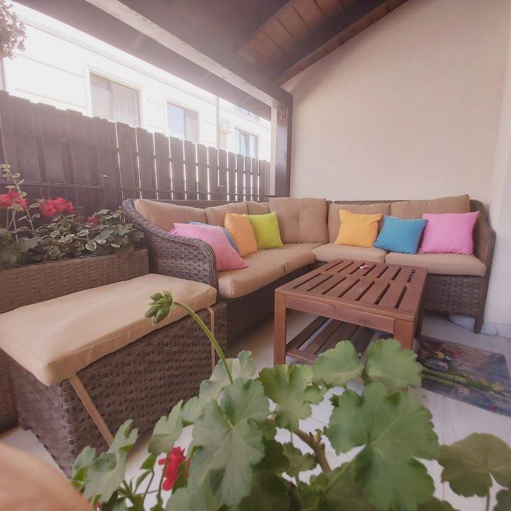 Confortul unei case in apartamentul cu 3 camere, gradina de 60 mp, Cora- V2032 12