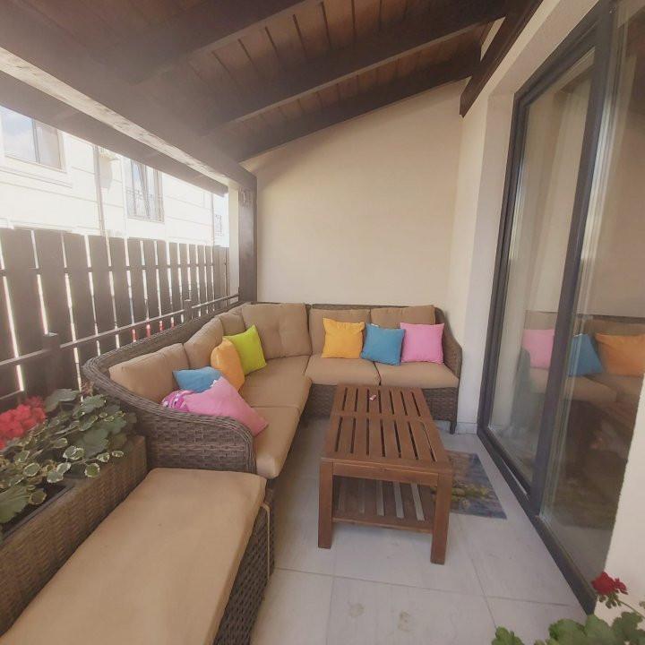 Confortul unei case in apartamentul cu 3 camere, gradina de 60 mp, Cora- V2032 21