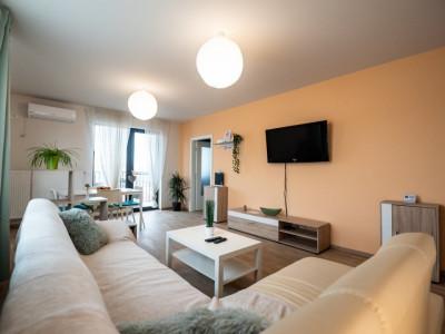 Apartament de lux de închiriat în bloc nou
