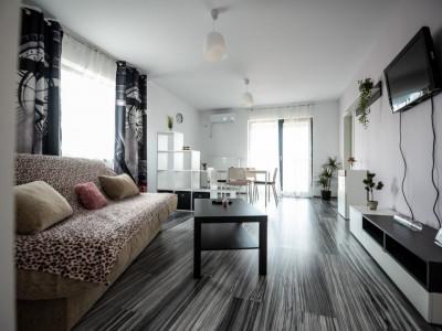 Apartament de lux cu 2 camere în bloc nou