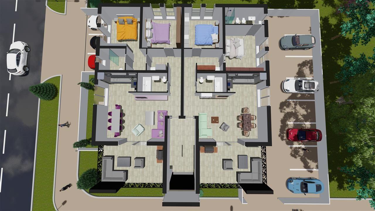 Apartament Penthouse - 3 camere Giroc - ID V395 2