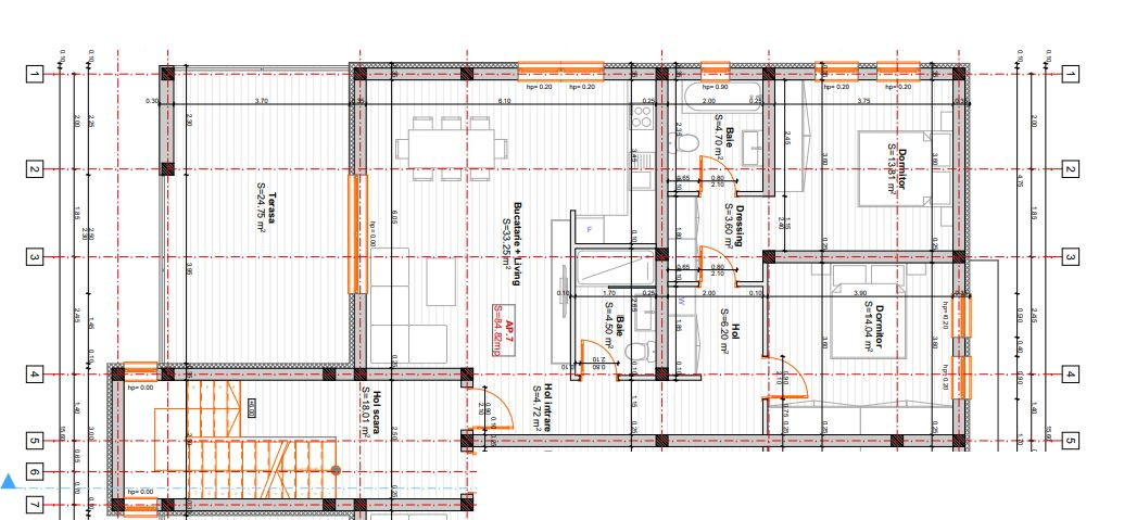 Apartament Penthouse - 3 camere Giroc - ID V395 4