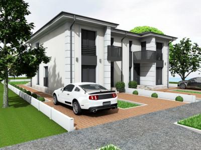 Duplex 5 camere toate utilitatile