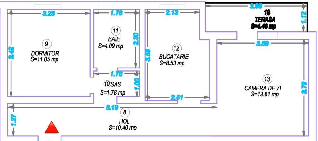 Apartament 2 camere de vanzare Giroc - ID V352 3