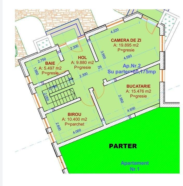 Duplex 5 camere de vanzare in Urseni - ID V233 9