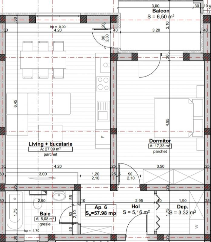 Apartament Smart 2 camere de vanzare Giroc zona centrala - ID V220 2