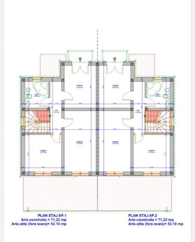 Casa tip Duplex 5 camere de vazare in GIARMATA MARE- ID V184 5