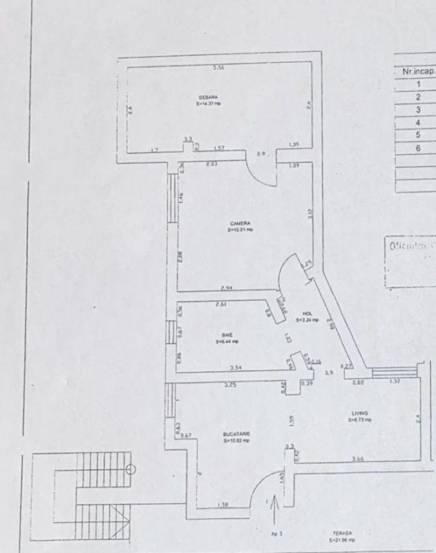 Apartament 2 camere de vanzare Fratelia - ID V167 8