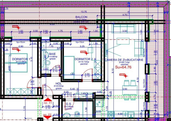 Ciarda Rosie 3 camere de vanzare- ID V162 4