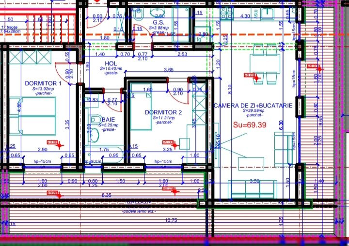 Ciarda Rosie 3 camere de vanzare- ID V160 15