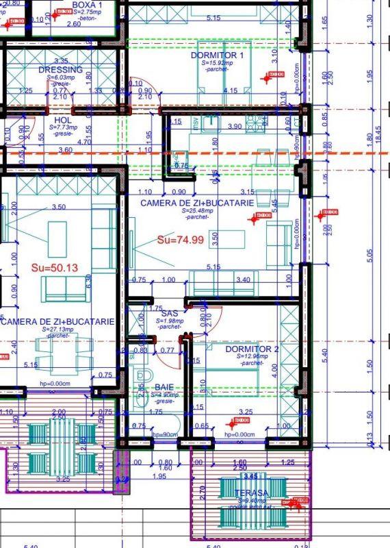 Ciarda Rosie 3 camere de vanzare + curte- ID V158 15