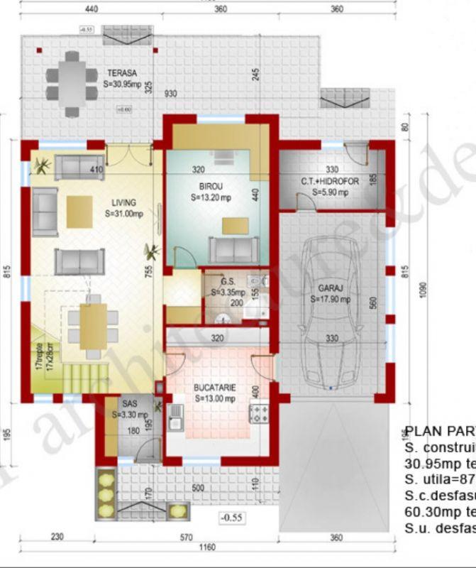 Casa 6 camere de vanzare Zona Sag - ID V155 21