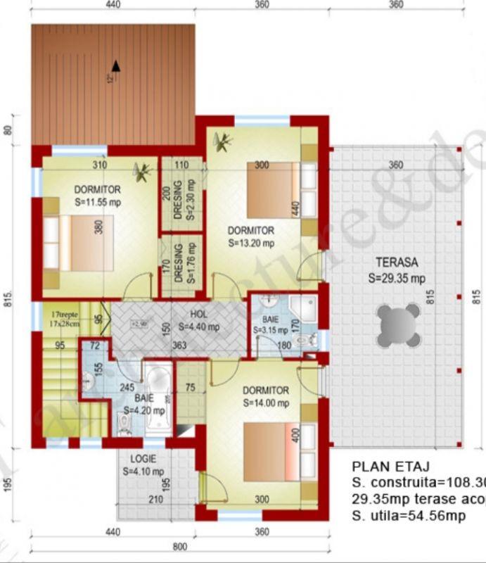 Casa 6 camere de vanzare Zona Sag - ID V155 22