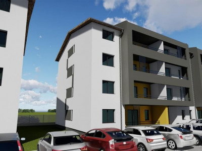 3 camere + terasa de vanzare in GIROC- ID V99