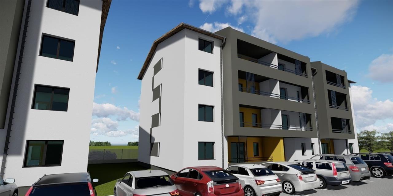 3 camere + terasa de vanzare in GIROC- ID V99 12