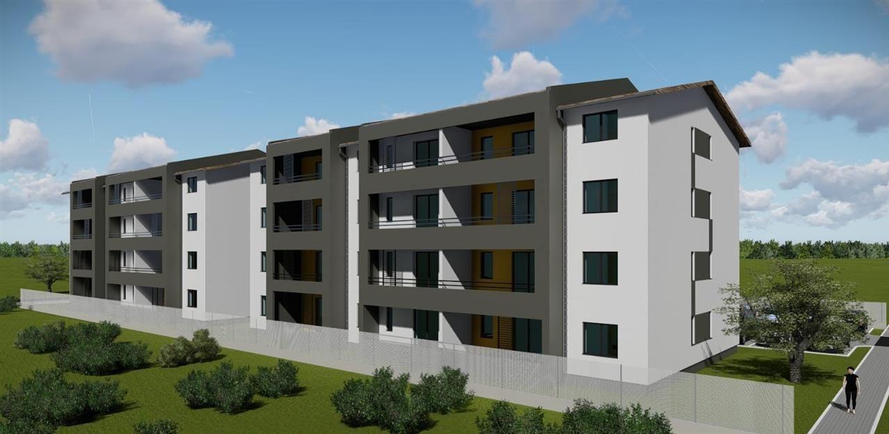 1 camere + terasa de vanzare in GIROC- ID V98 11