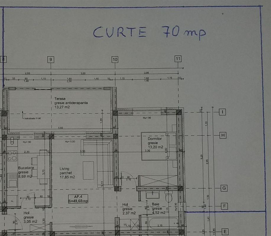 Apartament cu 1 camera terasa + curte de vanzare in GIROC - ID V95 5