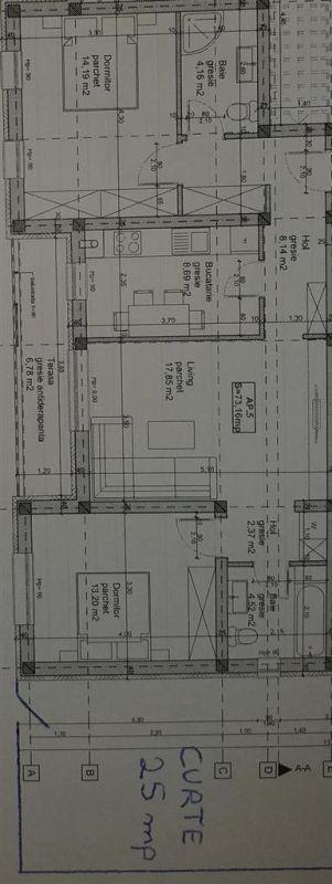 3 camere terasa + curte de vanzare in GIROC - ID V93 5