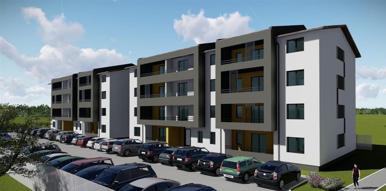 Apartament cu 1 camera + terasa de vanzare in GIROC- ID V71 13