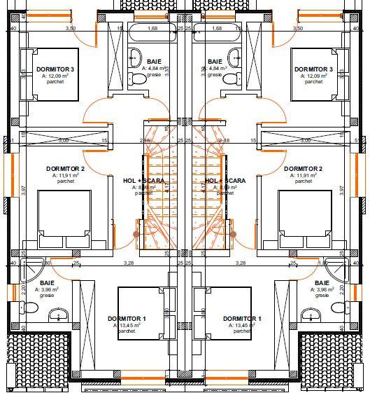 Casa tip duplex 4 camere de vanzare Mosnita Noua - ID V387 6
