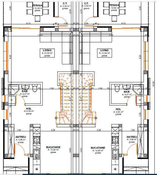 Casa tip duplex 4 camere de vanzare Mosnita Noua - ID V387 7