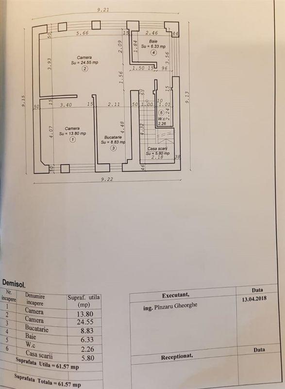 Apartament 2 camere de vanzare zona LUNEI- ID V11 18