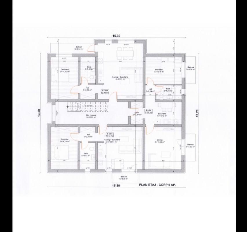 Apartament cu doua camere in Giroc - ID V469 6